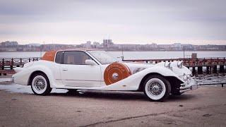 Самая необычная машина в мире.  mitsuoka le-seyde