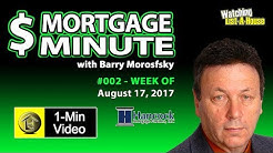 Mortgage Interest Rates Today Lowest in South Florida in Years ! - The Mortgage Minute
