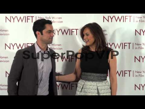 Danny Pino and Mariska Hargitay at the New York Women in ...