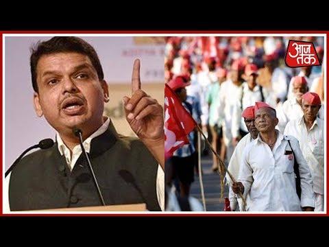 किसानों के हल्ला बोल के सामने फडणवीस सरकार ने टेके घुटने   India 360
