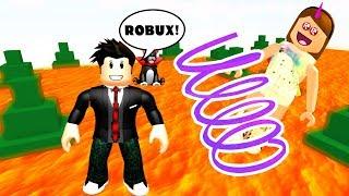No! Ho SPENTo 99 ROBUX E LOST TUTTO ROBLOX-Il pavimento è LAVA!