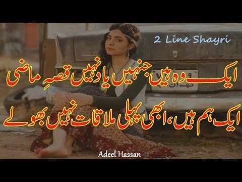 Amazing Urdu Poetry| 2 Line Best Urdu Poetry|Heart Touching Romantic Shayri|Love Poetry|Hindi Shayri