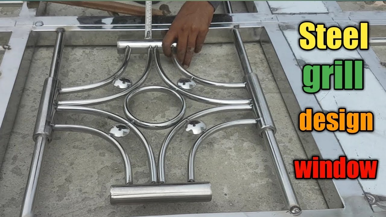 Latest Window Grill Design Stainless Steel Window Grill Youtube