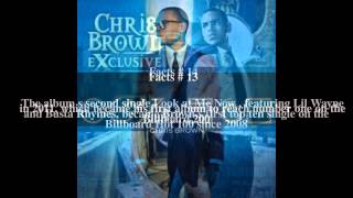 Chris Brown discography Top # 26 Facts