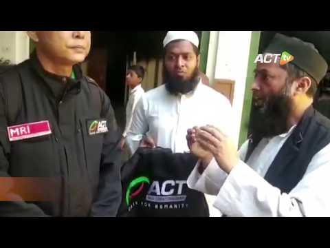 Belasan Masjid Dibakar, ACT Beri Santunan untuk Muslim di NEW DELHI INDIA