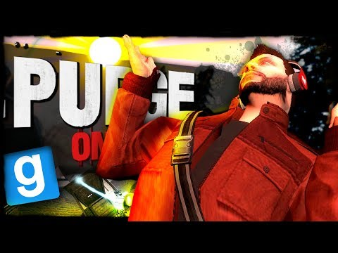 Purge Online | THE PURGE IN DAYLIGHT??? (Garry's Mod)