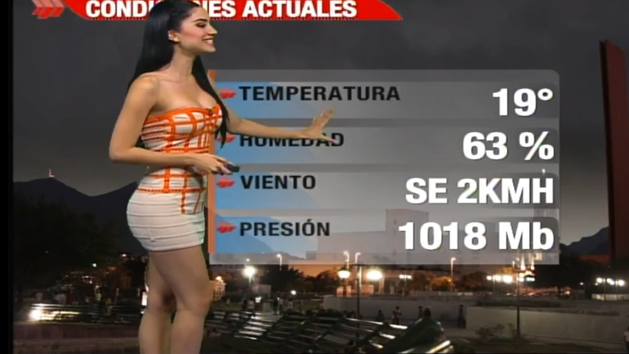 Naile Lopez Beautiful Mexican Weather Girl 23 11 2012 By