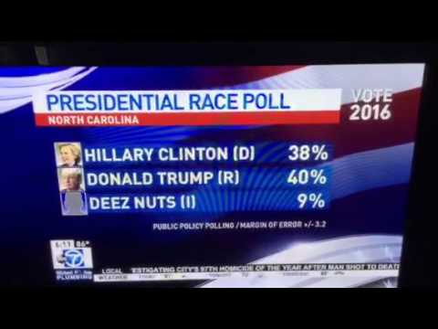 """Deez Nuts"" for president"
