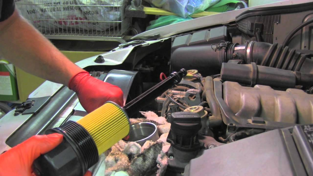 Ml320 Engine Diagram Single Pole Switch Wiring Oil Change Mercedes - Youtube