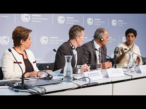 Opening Press Conference at the UNFCCC May meeting