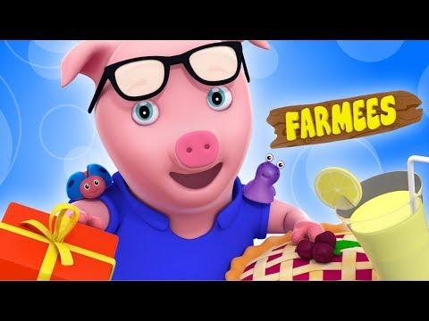 Little Jack Horner | Nursery Rhymes With Lyrics | Rhymes For Children by Farmees