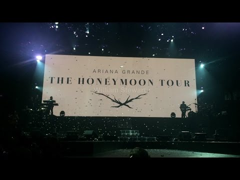HONEYMOON TOUR VLOG | Meeting Ariana Grande | Glasgow