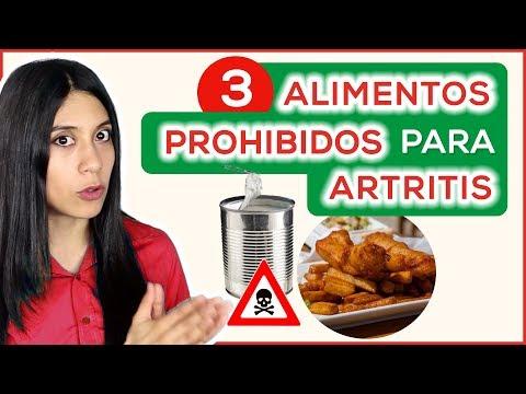 3 Alimentos PROHIBIDOS para ARTRITIS: Evitar causan inflamación y Dolor