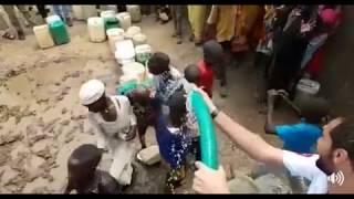 Türk Yardım Kuruluşu Afrikadaki Çocukları Suya Kavuşturdu
