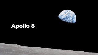 Apollo 8:  Around The Moon and Back / Christmas Message