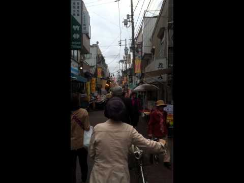 Sunamchi shopping street in Koto-ku
