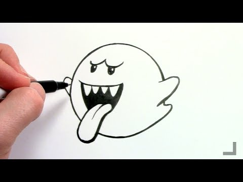 Let S Draw Boo Youtube