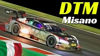 DTM Misano 2018, Italy - Highlights Night Races 1 & 2 - Crash, Massive Flames, Sparks & More!