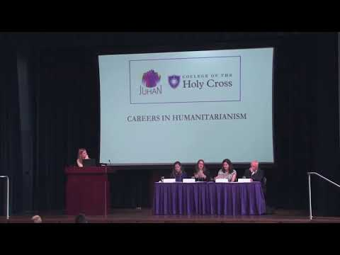 "2017 JUHAN Conference - ""Careers in Humanitarianism"""