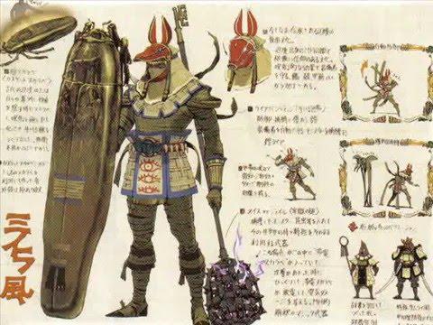 Monster Hunter Armor Concept Art Youtube