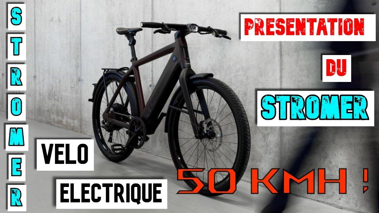 Download STROMER ST2 Vélo Electrique 50km/H