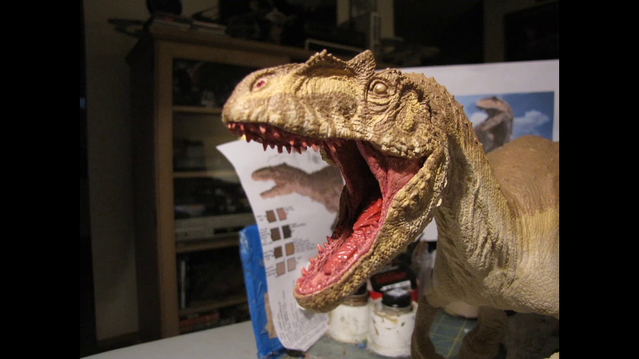 Cretaceous Creations of America ALLOSAURUS