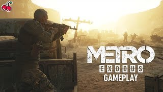 28 Minutes of METRO EXODUS - Opening, Watchmen and More (GameByte Plays)