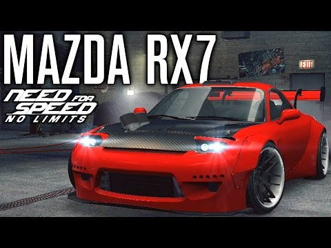 ROCKET BUNNY MAZDA RX7 CUSTOMIZATION | Need for Speed No Limits