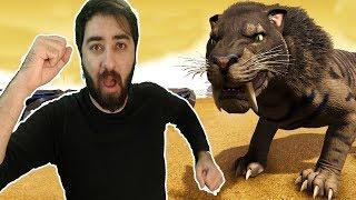 Baixar Aslan Kaplan Eğittik (sabertooth)   Ark Youtuber Savaşları #13