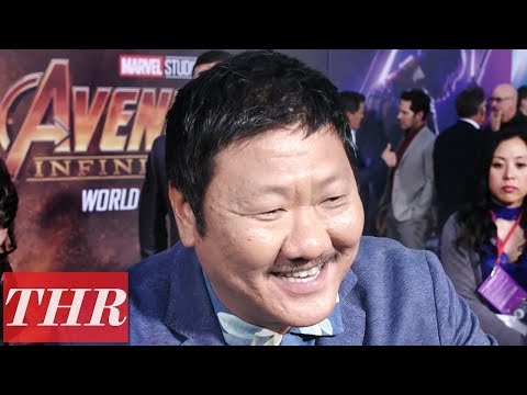 Benedict Wong on 'Avengers: Infinity War' Premiere Red Carpet  THR
