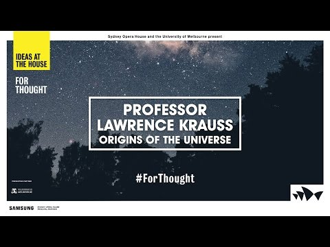 Lawrence Krauss on the Origins of the Universe