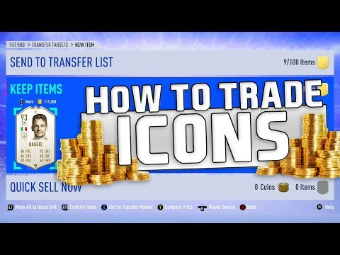 FIFA 19 ICON TRADING TIPS | TRADING TO GLORY #21 | FIFA 19 ULTIMATE TEAM thumbnail