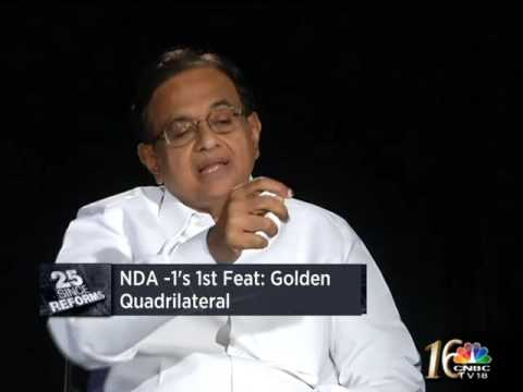Yashwant Sinha was a competent but unlucky FM: P Chidambaram
