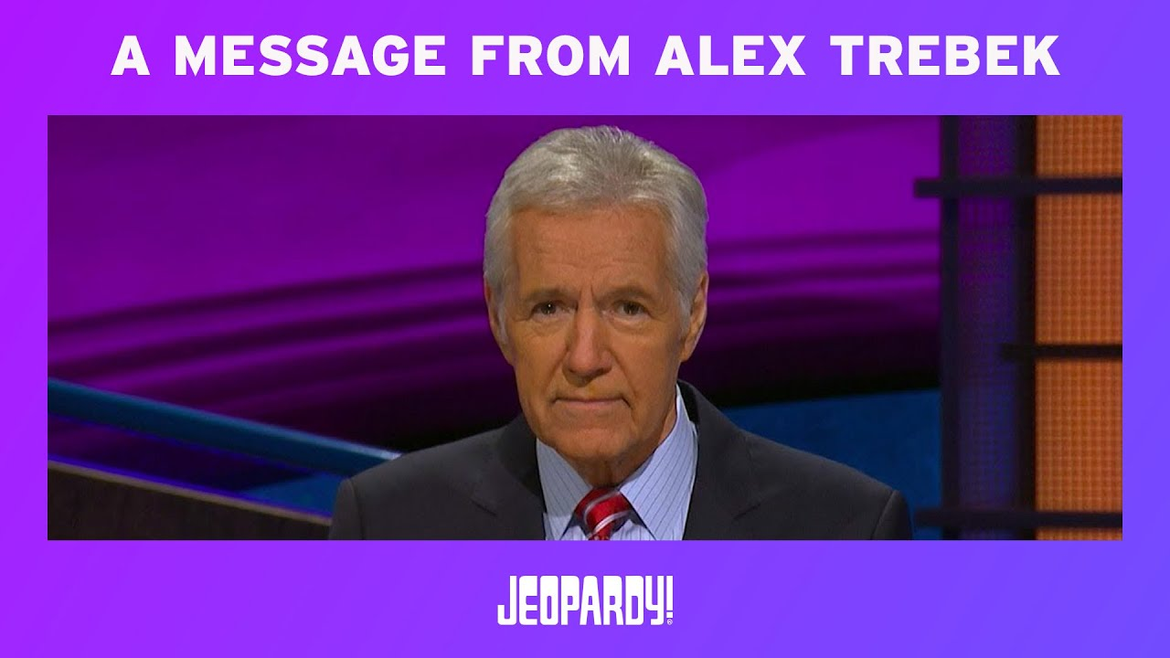 "Alex Trebek close to tears after ""Jeopardy!"" contestant's surprise answer"