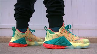 lebron 12 low lebronald palmer on feet foot