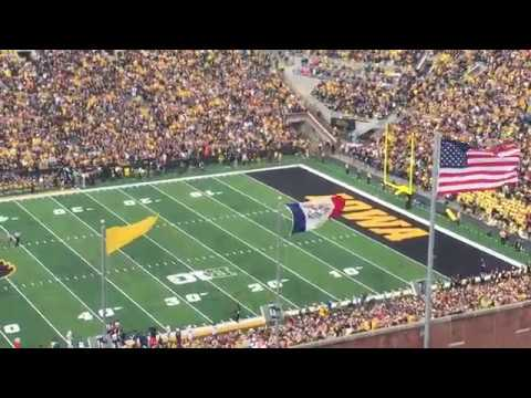 Kinnick Stadium's Wave As Seen From the University of Iowa Children's Hospital