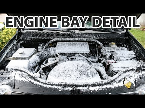 Detailing Your Engine Bay the Easy Way