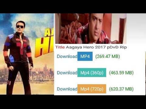 Aagaya hero full movie HD download | govinda movie| free download|