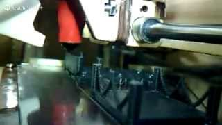 3Dプリンター生中継動画17回目「椅子の模型を印刷」