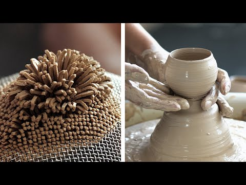Relaxing ASMR POTTERY