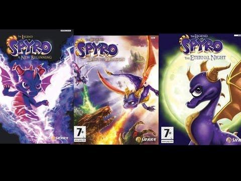 The Legend of Spyro games Trilogy Soundtrack
