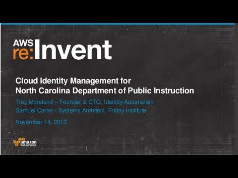 Cloud Id Management Of North Carolina Department Of Public