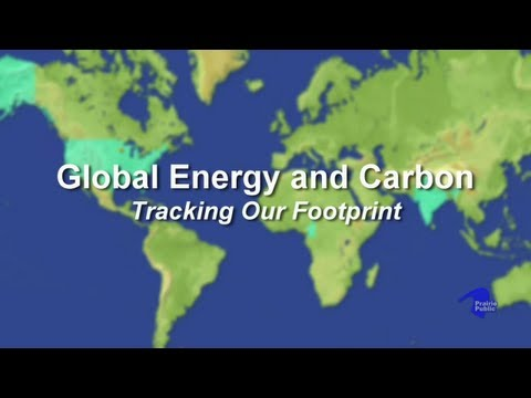 Global Energy and Carbon: Tracking Our Footprint