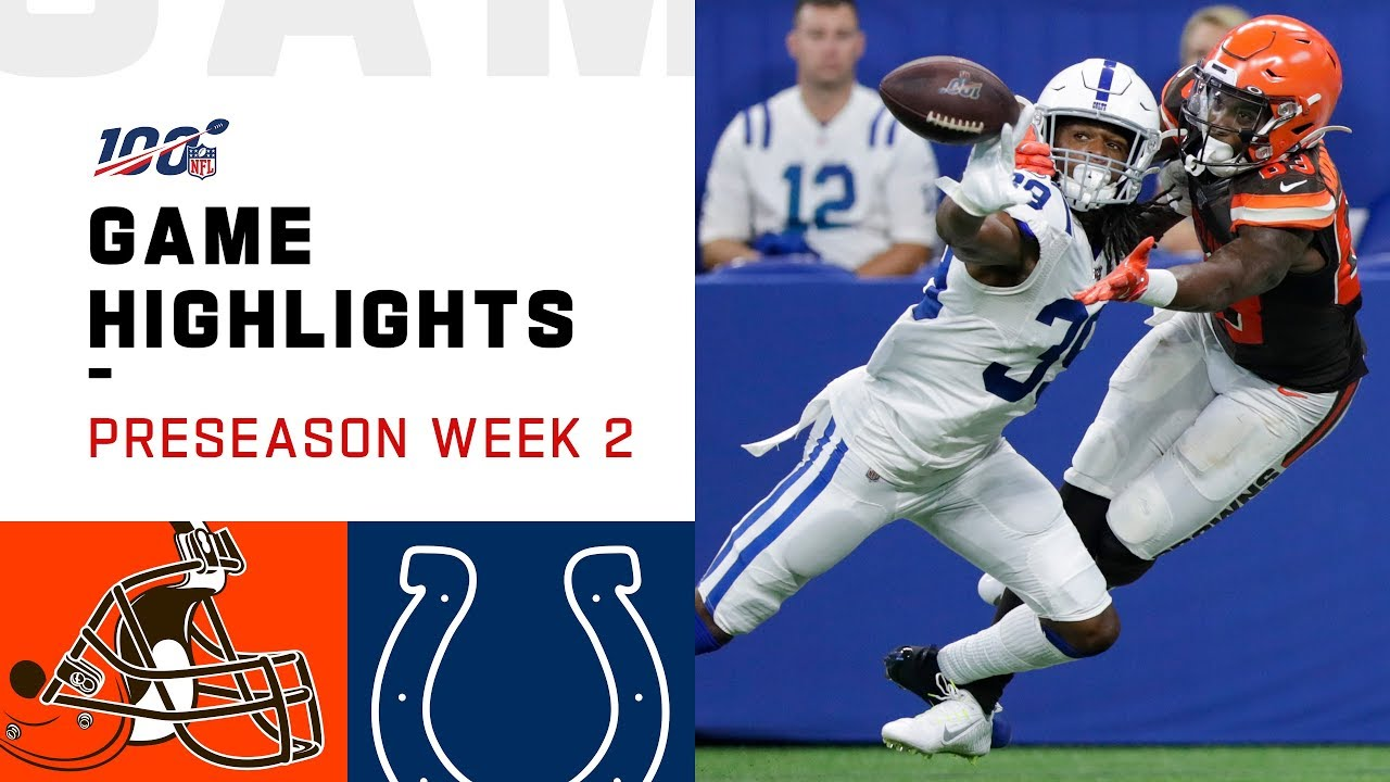 a78a11dc Browns vs. Colts Preseason Week 2 Highlights | NFL 2019