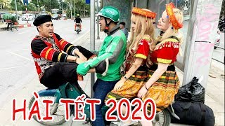 Hài tết 2020 | Tộc Đèo Vợ Tây Xuống Phố Thách Thức Công An Giao Thông | Phim Hay Mới Nhất 2020