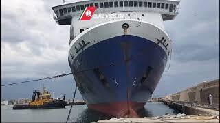 """La """"Norman Atlantic"""" ha definitivamente lasciato il porto di Bari"""