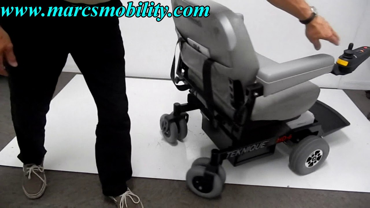 Hoveround Hd 6 600lb Capacity Used Hoveround Youtube