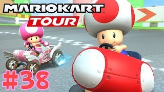To score 5 digits on Waluigi Cup & Toadette Cup - Mario Kart Paris Tour Part 38