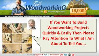 Free Plans For Wood Projects (carpentry Plans)