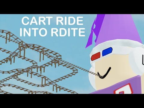 Roblox Cart Ride Into Rdite Youtube